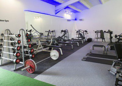 Dedicated Personal Training Area