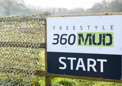 Mud Run Course Cotswolds